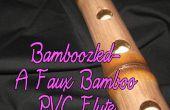 Dupé-A faux bambou PVC flûte