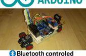 Arduino Bluetooth commandé RC voiture