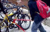 Comment rendre votre vélo à un découragement laid pour les voleurs