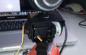 Webcam en utilisant Arduino, SensorMonkey, jQuery et Justin.tv télécommandés