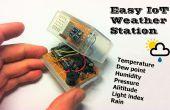 Station de météo IoT facile avec plusieurs capteurs