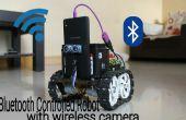 Robot Bluetooth contrôlée avec camera sans fil espion