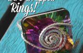 Fil enveloppé anneaux !