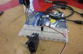 Arduino alimenté commande servo - je l'ai fait à TechShop