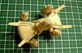 Modèle de bâton de Popsicle Gunstar mini