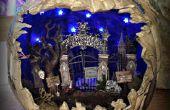 Spooky cimetière Diorama citrouille