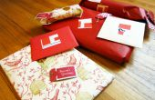 Faire vos propres étiquettes-cadeaux