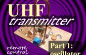 Télécommande UHF émetteur