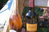 Vin bouteille « Tiki » torche (Table-top)