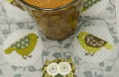 Smoothy de banane baies goji chocolat brut