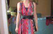 Comment faire une robe bustier de cravates