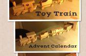 Calendrier de l'Avent Train de jouet