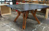 Coffee table pliante