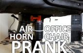 Farce de chaise air horn Bureau