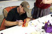 Comment faire pour créer des peintures à l'huile sur les blocs de bois