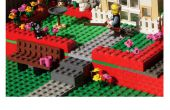 Faire du père Diorama Lego Day Card