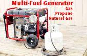 Générateur de multi-carburants - gaz Propane NG