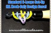 Norme 6 boucle Set Up pour crochet seulement Rainbow Loom Bracelets