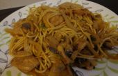 Poulet simple & Easy Lo Mein