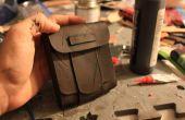Tutoriel pochette & Intro à base de maroquinerie de cuir
