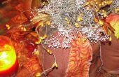 Gratuit automne projet de couture - comment faire une citrouille Raggedy primitif de tissu