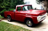 1960 Ford F-100 camion restauration