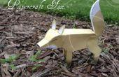Bricolage Papercraft Fox