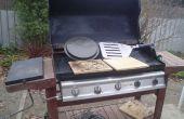 Pierre cuite Pizza sur votre barbecue