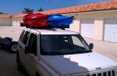 Voiture Top - 2 Rack de Kayak (barres de toit voitures seulement) environ 30 dollars...