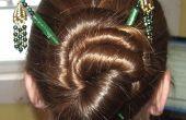 Coiffures pour cheveux bâtons