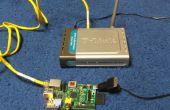 Robot communication via ethernet sans fil