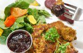 Maison Nuggests de poulet cuit au four avec trempette spécial pour jour nuit dîners
