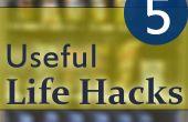 5 durée de vie utile Hacks