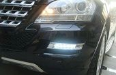 Installer des feux diurnes à LED Mercedes Benz ML