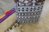 Comment faire un pied de tabouret ou une chaise de recyclé les pots de peinture