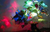 Charmantes fleurs LED