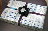 Sans frais Magazine Gift Wrap, Origami boîte & Bow