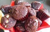 Muffins au chocolat humides