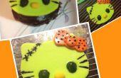 Bonjour Kitty Frankenstein (topper cupcake) !