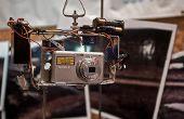 Plate-forme de photographie aérienne de cerf-volant