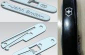3D imprimés personnalisés 91mm Swiss Army Knife (SAK) échelles