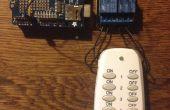 Arbre de Noël, lumières contrôlée par téléphone ? Un simple Internet of Things hack.