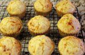 Muffins de pain de maïs sans gluten libre Turquie Cheddar