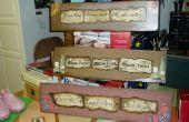 Recyclé planches de plancher en stratifié