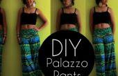 Comment faire des pantalons Palazzo en 20 min | Vidéo + picturale
