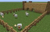 Comment construire une ferme sur minecraft