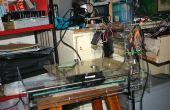 Machine de gravure laser CNC (production de Machine de gravure Laser de gaspillé à l'aide de CD-lecteur ou imprimante)