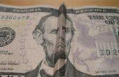 Astuces argent : Comment faire Abe Lincoln (sur le billet de $5) sourire et froncer les sourcils.