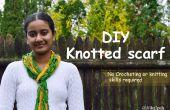 DIY foulard noué - aucun crochet ou tricot compétences requises