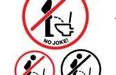 Créer votre propre séance-Down-pipi-signe effectif pour vos toilettes/WC (Télécharger 3 fichiers)